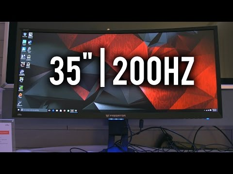 "Acer Predator Z35 - 35"" 200Hz 21:9 Gaming Monitor"