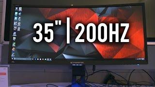 acer predator z35 35 200hz 21 9 gaming monitor