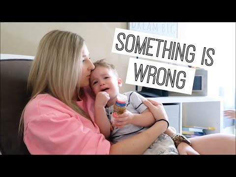 SOMETHING IS WRONG   DAY IN THE LIFE WITH A SICK TODDLER