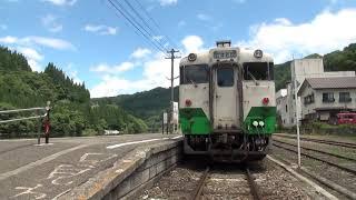 只見線会津川口駅2015/07/20