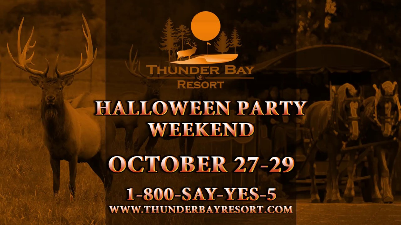 Halloween 2020 Thunder Bay Thunder Bay Resort Halloween Party with Mike Ridley   YouTube