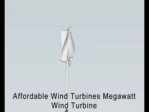 Affordable Wind Turbines Megawatt Unit