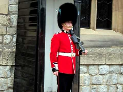 Guarding the Queen's Jewels at the Tower of London