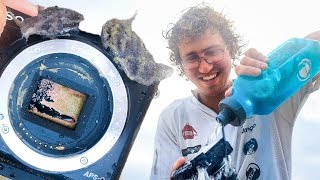 Dropped $500 Camera into the Sea!
