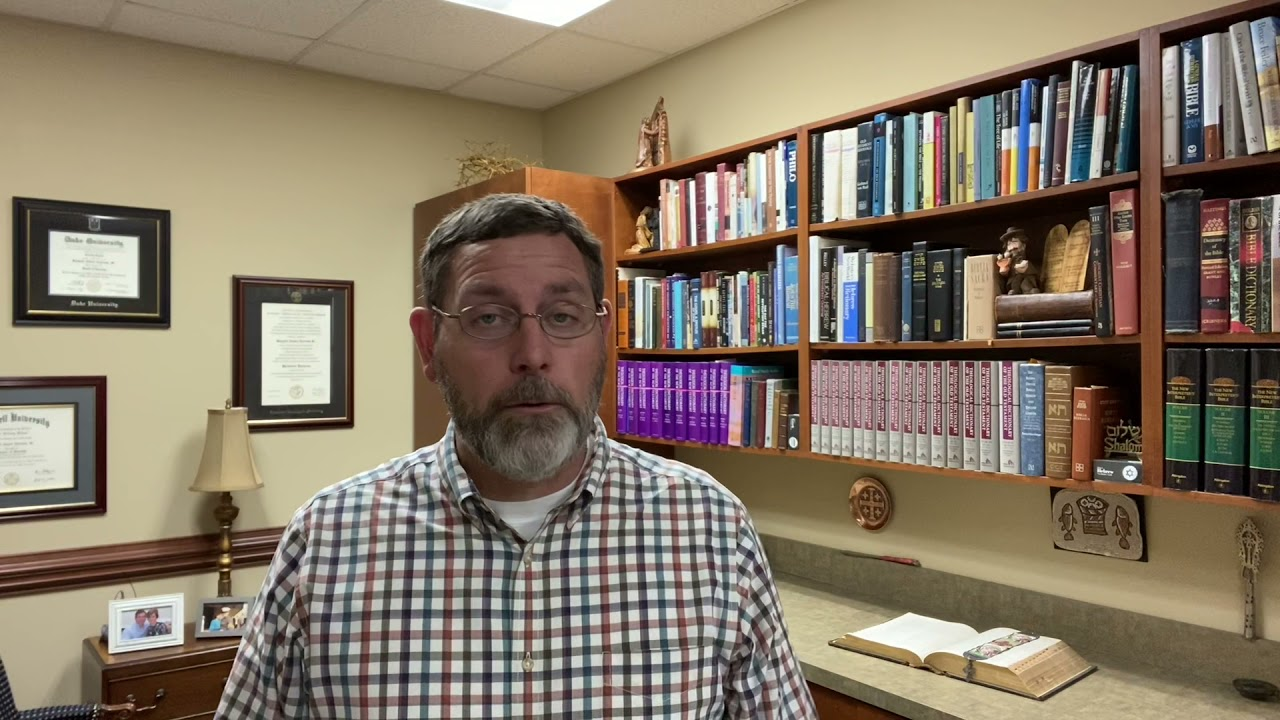 Video Message from Pastor Rit 03/31
