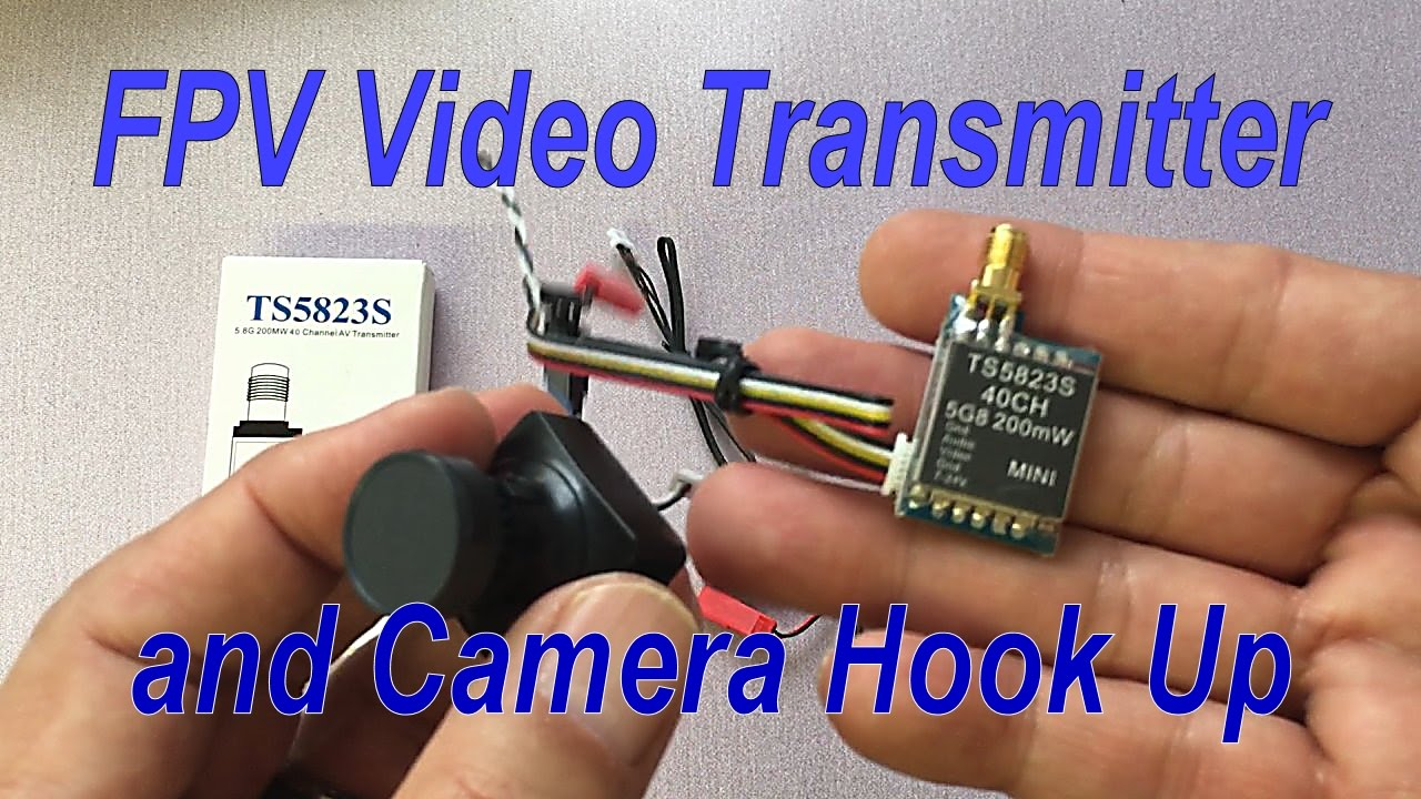 medium resolution of how to connect fpv video transmitter to camera