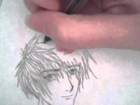 how to draw realistic manga characters