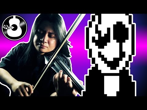 Undertale - Here We Are ft. Gaster (Techno Rock Cover/Remix)   True Lab    String Player Gamer