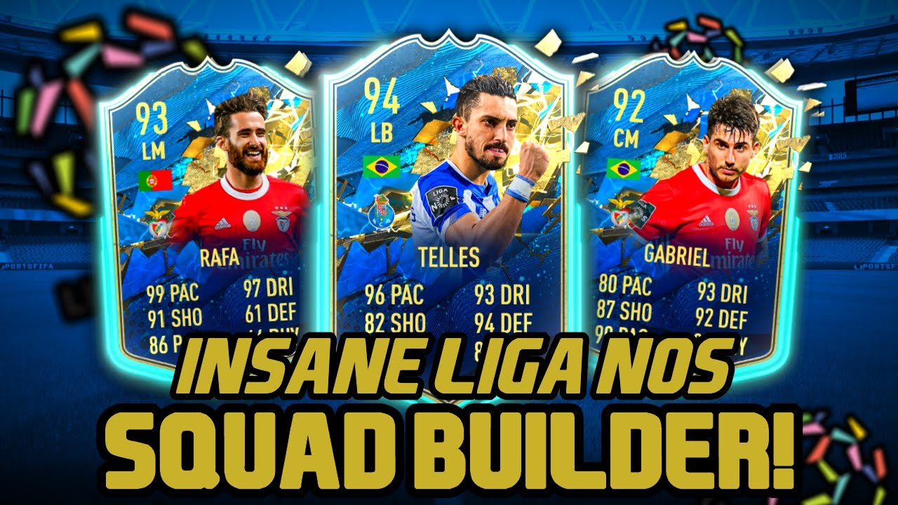The Best Possible Liga Nos Team Fifa 20 Squad Builder Fifa 20 Ultimate Team Youtube