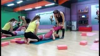 Мастер класс по стретчингу от Остроуховой Ольги 2 курс