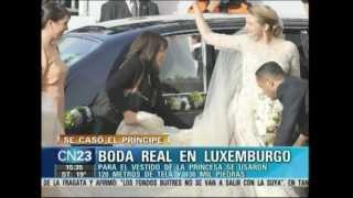 COLUMNA MODA AGUSTINA RIVAS CN23 - BODA REAL EN LUXEMBURGO