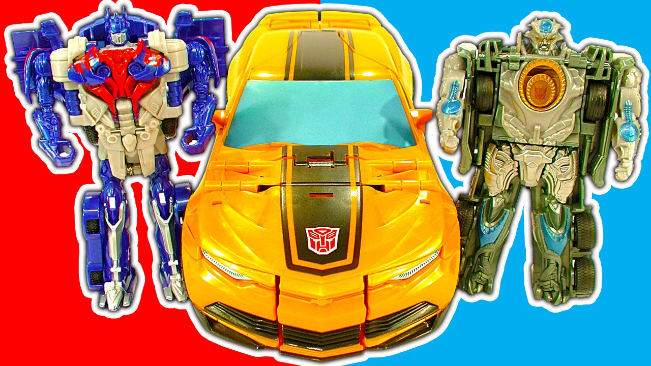 Transformers 1Step Amazing Robot Cars Trucks Mega Bumblebee Toy