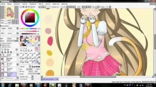 Speed Paint - Cat Girl Airi (Part 3)