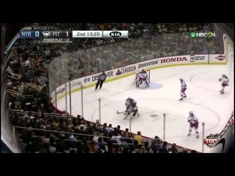 New York Rangers vs Pittsburgh Penguins. PlayOff NHL 2015