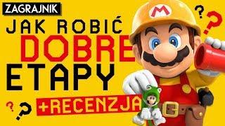 Jak ROBIĆ DOBRE etapy w Super Mario Maker 2 + recenzja