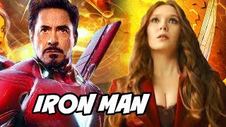 Iron man & Pepper Pots new Suit Explained in Avengers 4 & Avengers Infinity War