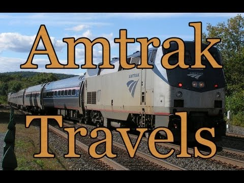 Amtrak Train Travels: Part 1 - Settling in