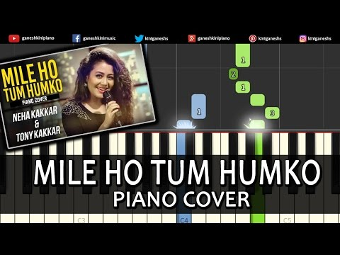 Mile Ho Tum Fever|Neha Kakkar|Song|Piano Chords Tutorial Lesson Instrumental Karaoke By Ganesh Kini