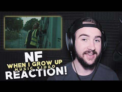NF | When I Grow Up | Music Video | Reaction!
