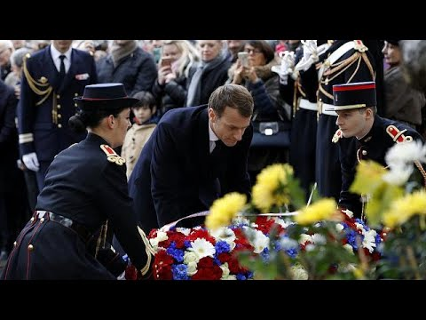 France commemorates Armistice day