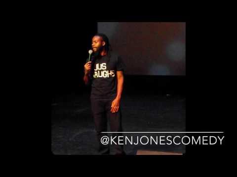 Comedian Ken jones