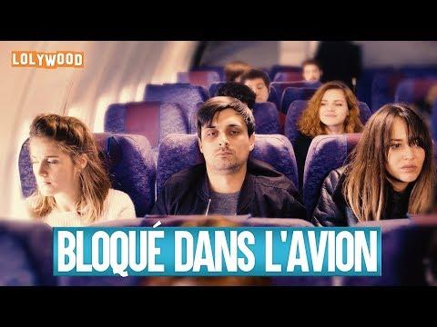 Bloqué dans l'avion