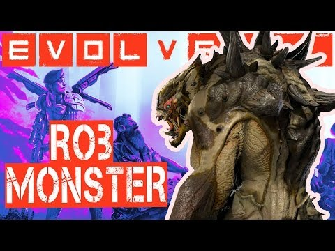 Evolve: Aaaah Rob Monster (PS4)