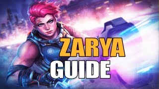 Overwatch ZARYA Guide - (Tipps & Tricks Tutorial German Deutsch)