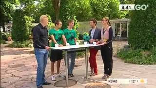 Fodboldtricks.dk præsenterer Tobias og Brizze i Go' Morgen Danmark