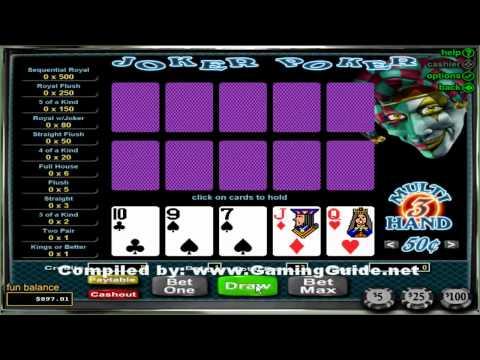 Joker Poker 3 Hand Video Poker
