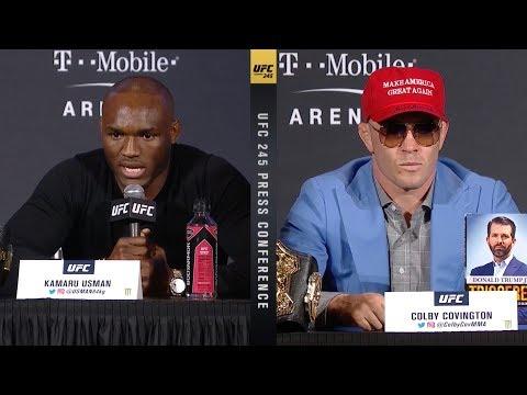 UFC 245: Пресс-конференция