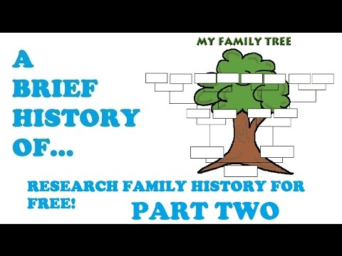 How to research your family tree through the national trust