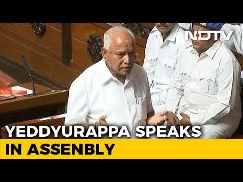 BS Yeddyurappa Quits As Karnataka Chief Minister Just Before Trust Vote