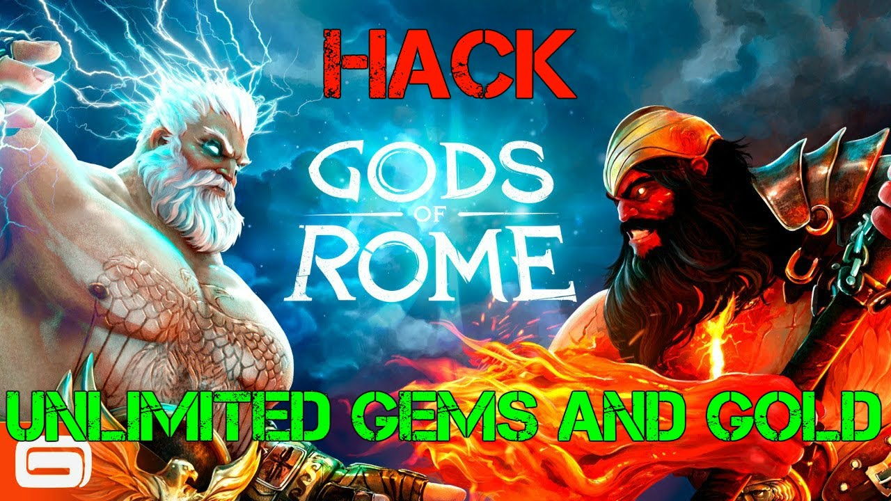 gods of rome unlimited gems