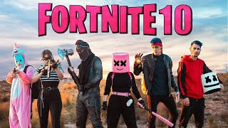 FORTNITE - PERSONAJES EN LA VIDA REAL 10