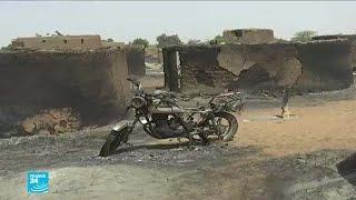 هجوم على قرية وسط مالي يودي بحياة 95 شخصا على الأقل