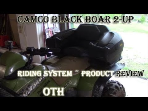 Camco Black Boar 2 Up 2 Person Riding System Product Review Youtube