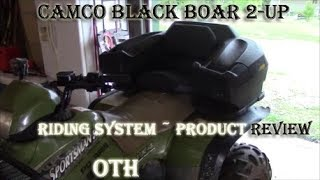 Camco Black Boar 2-Up (2 Person) Riding System ~ Product Review