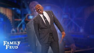 Top 5 moments with Steve Harvey from July 2019!   Family Feud