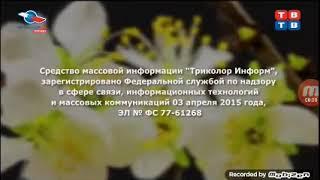 Заставка СоР СМИ Триколор Информ (ТВ-ТВ, 2015-2018)