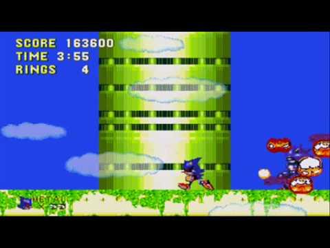 Metal Sonic Vs. Mecha Sonic