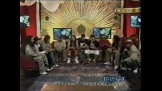 Gondwana(Maxi Vargas) &  I Jah Bones Entrevista Telehit@ Vive Latino 2007 Mexico City!