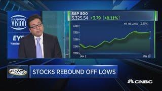 Sentiment too negative for market peak to form: Fundstrat's Tom Lee