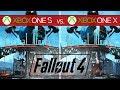 Fallout 4 Comparison - Xbox One X vs. Xbox One S