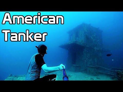 American Tanker Wreck | Freediving Guam