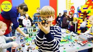 легород сеть развивающих игровых комнат Lego Mishka Vlog #9
