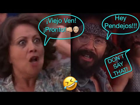 """Cheech & Chong - Bendecko? """"Hey Pendejos How You Doing!"""" 🤣"""