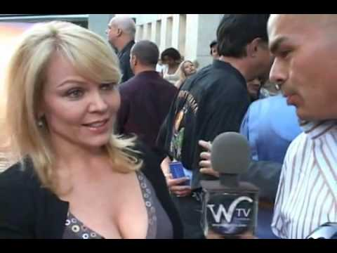 Gail O' Grady at The House that Jack Built Premiere.flv