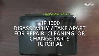 HP 1000 Laptop Disassembly | Fan Cleaning | Replace Parts