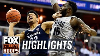 Xavier vs Georgetown   Highlights   FOX COLLEGE HOOPS